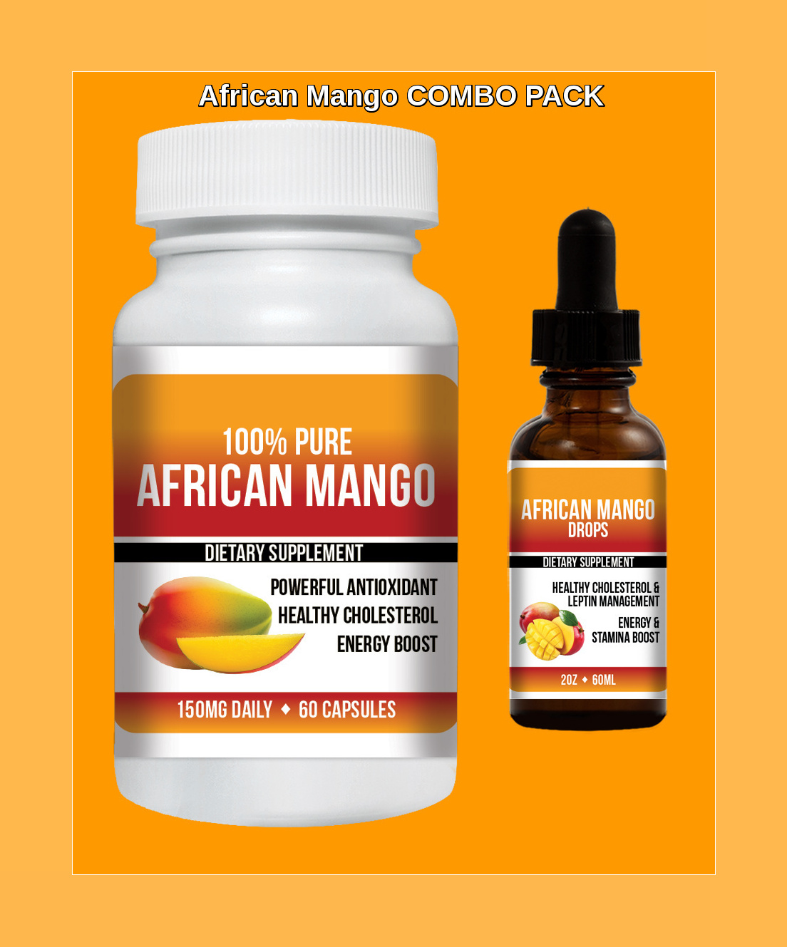 African Mango Extract Pills African Mango Drops 100 Pure Fat