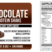 Shake Chocolate  LABEL